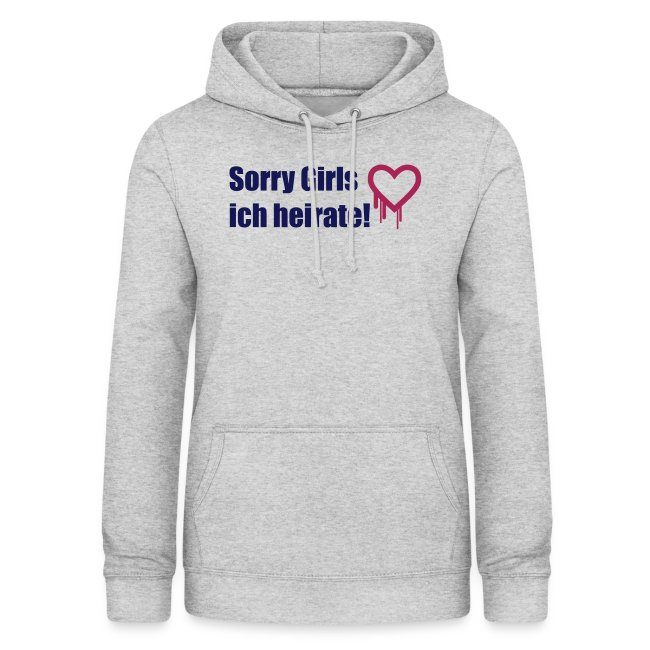 sorry girls - ich heirate