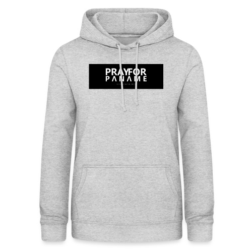 TEE-SHIRT HOMME - PRAY FOR PANAME - Sweat à capuche Femme