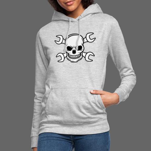 MEKKER SKULL - Dame hoodie