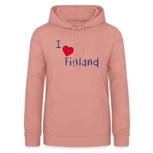 I Love Finland - Naisten huppari
