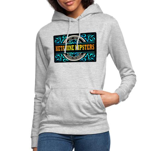 Black Vintage - KETAMINE HIPSTERS Apparel - Women's Hoodie