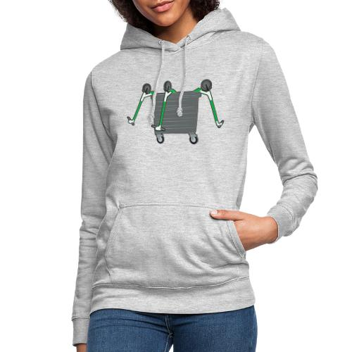 EScooter Recycling Tonne - Frauen Hoodie