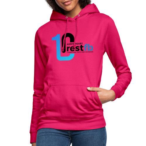 10years RestFB - anniversary logo - Women's Hoodie