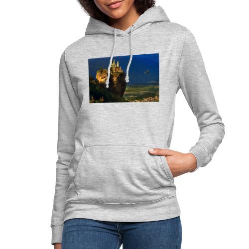 try castle01 - Felpa con cappuccio da donna