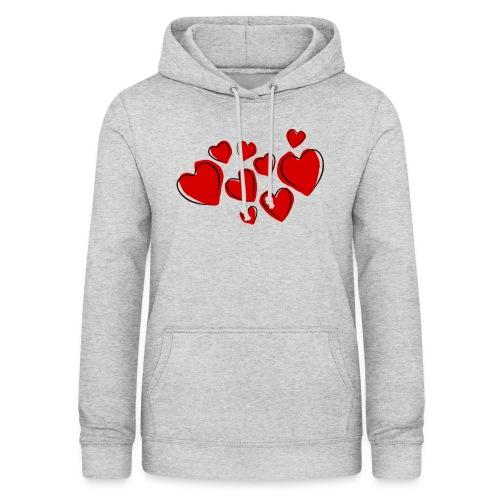 hearts herzen - Frauen Hoodie