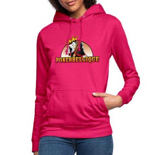 Logo Poker Belgique - Sweat à capuche Femme