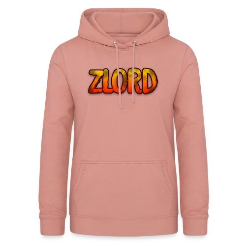 YouTuber: zLord - Felpa con cappuccio da donna