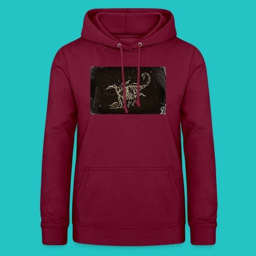 skorpion_grafika-jpg - Bluza damska z kapturem