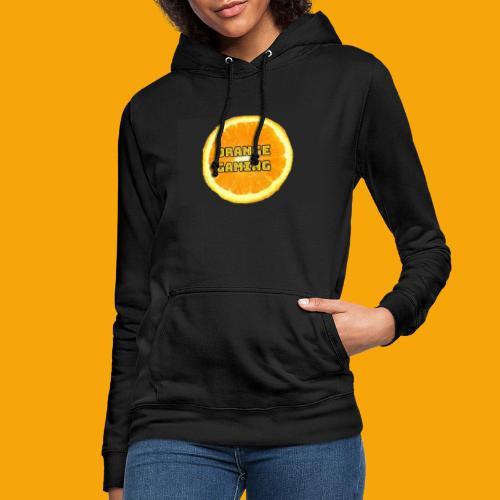 Orange_Logo_Black - Women's Hoodie