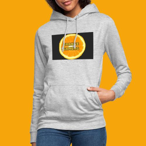 Orange_Logo_Black - Women's Hoodie