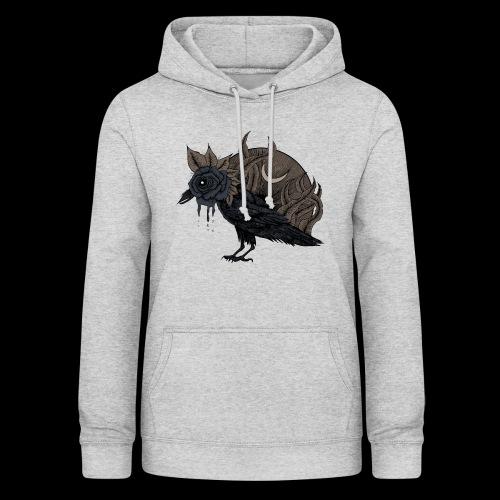 Lost corbeau - Sweat à capuche Femme