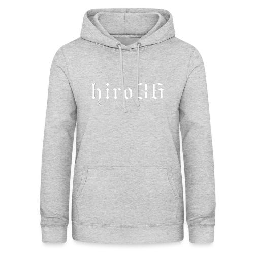 hiro36 - Felpa con cappuccio da donna