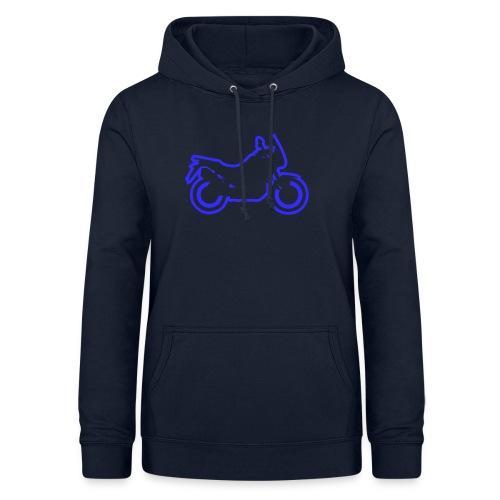 at symbolik blau - Frauen Hoodie
