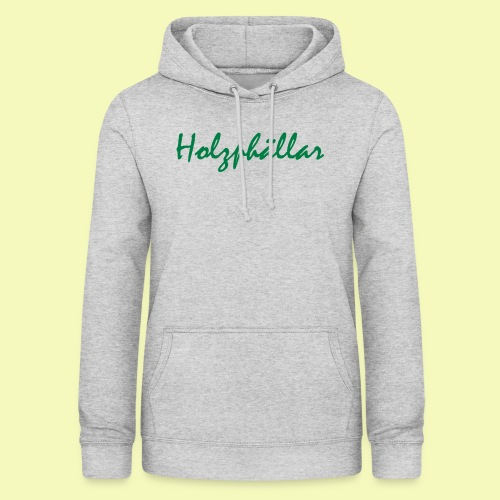 Schriftzug Grün - Frauen Hoodie