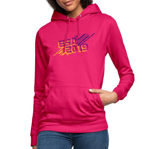 ESA 2019 - Summer Gold and Purple - Women's Hoodie