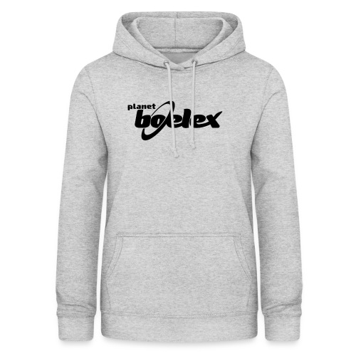 Planet Boelex logo black - Women's Hoodie