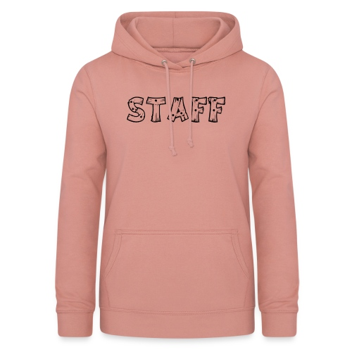 STAFF - Felpa con cappuccio da donna