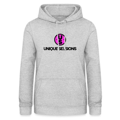 Unique Sessions logo - Women's Hoodie