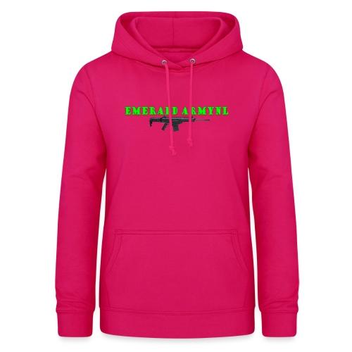 EMERALDARMYNL LETTERS! - Vrouwen hoodie