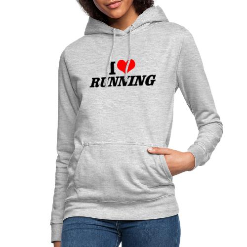 I love running - Frauen Hoodie