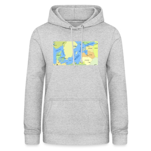 Baltic Sea Map - Women's Hoodie