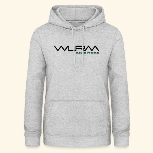 WLRM Schriftzug black png - Frauen Hoodie