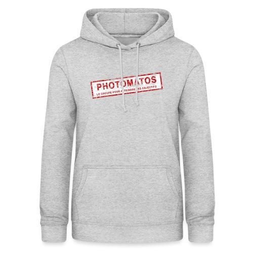 PhotoMatos - Sweat à capuche Femme