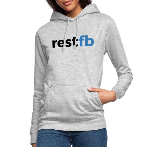 RestFB logo black - Women's Hoodie