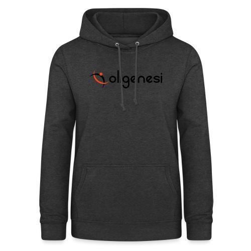Oligenesi - Felpa con cappuccio da donna
