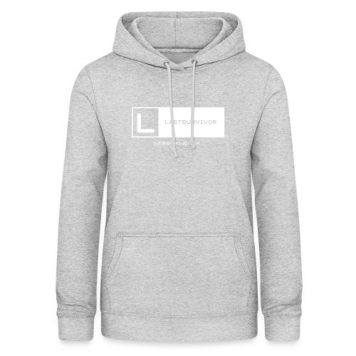 lastsuvivor black and white brand - Frauen Hoodie