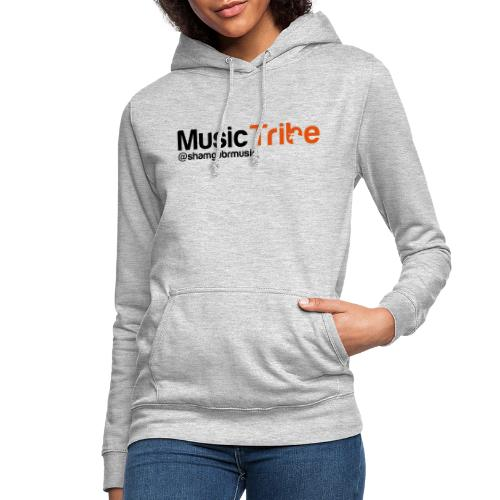 music tribe logo - Women's Hoodie
