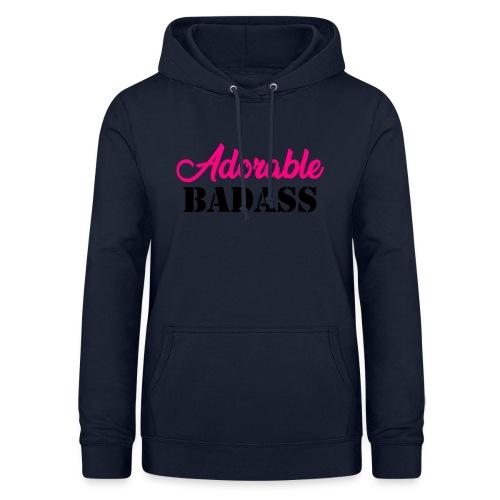 Adorable Badass - Vrouwen hoodie