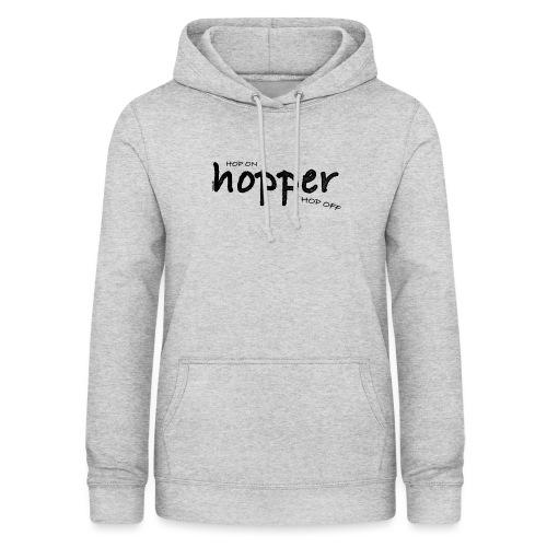 MuchoHop Hop On/Off (black) - Sudadera con capucha para mujer