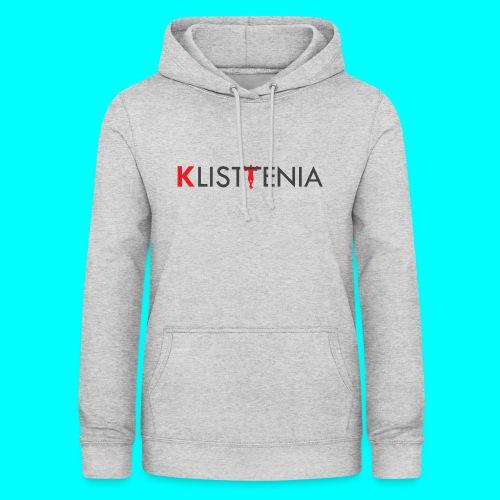 KLALISTENIA - Sudadera con capucha para mujer