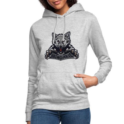 snowdiablo officiel logo - Sweat à capuche Femme