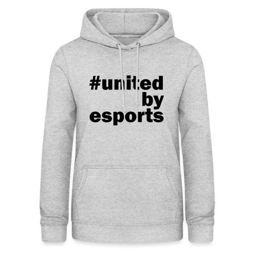 United By Esports schwarz - Frauen Hoodie
