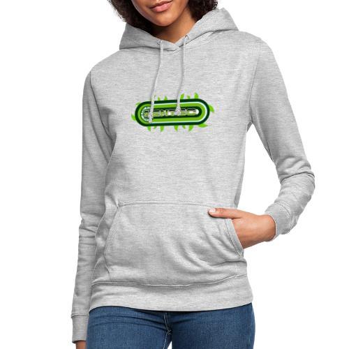 GREEN LOGO - Sudadera con capucha para mujer