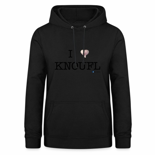 i love knoufl black - Frauen Hoodie