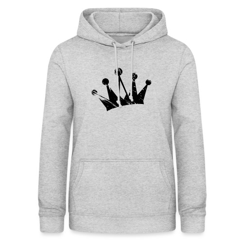 Faded crown - Women's Hoodie