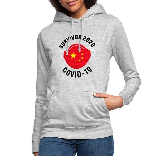 Survivor Covid 19 China - Sudadera con capucha para mujer