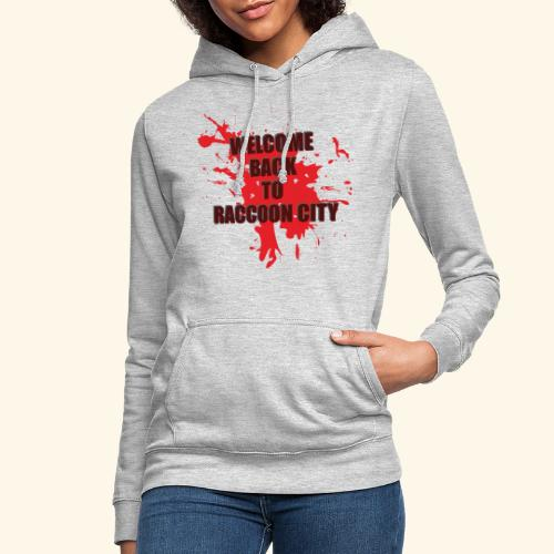 Welcome Back to Raccoon City TEXT 01 - Women's Hoodie