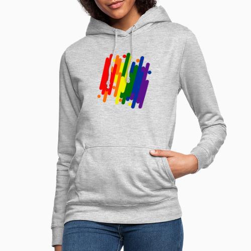 Abstract Pride Design - Women's Hoodie