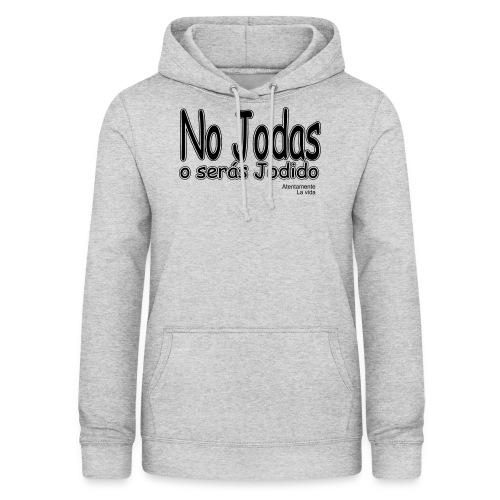 joder - Sudadera con capucha para mujer