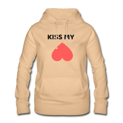 Kiss My Ass - Bluza damska z kapturem
