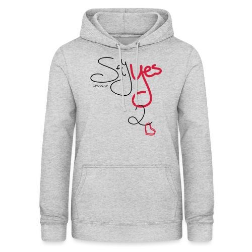 Yes 2 Love - Vrouwen hoodie