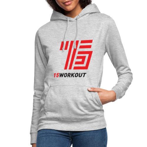 15WORKOUT Brand - Felpa con cappuccio da donna