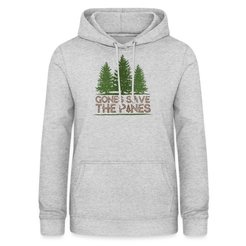 Gones save the pines - Sweat à capuche Femme