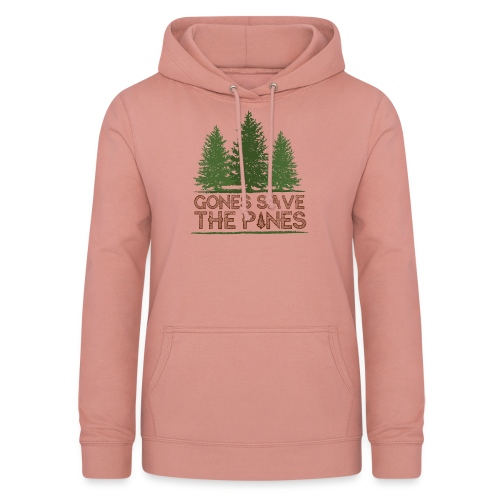 Gones save the pines - Sweat à capuche Femme