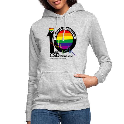CSD Pirna 2021 Toleranz ist Herzenssache - Frauen Hoodie