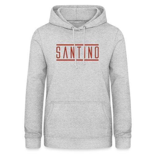 orange noir - Sweat à capuche Femme
